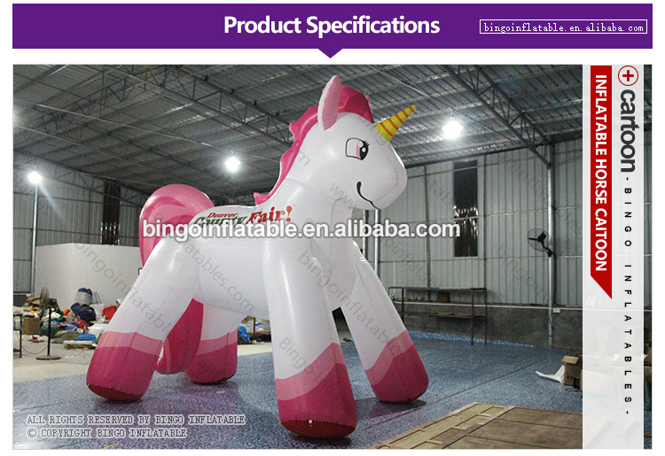 BG-A0459-Inflatable-horse cartoon-bingoinflatables_01