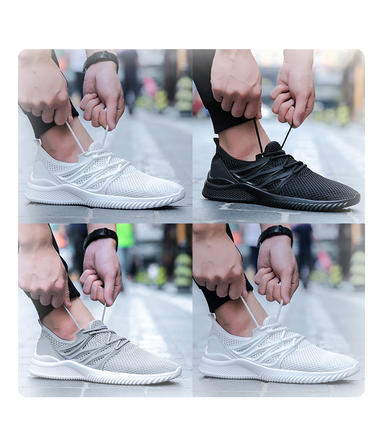 2018 New Arrivals Men's Fashion Summer Casual Shoes Man Sneakers Breathable Trainers Male Footwear Adult Krasovki Plus Size 45 49 Online shopping Bangladesh