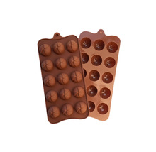 L010 Free shipping 1pcs Wind Shape Chocolate Muffin Bake Candy Jelly Ice Silicone old Pan Tray Maker cake
