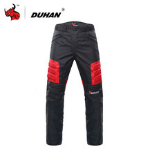 DUHAN Motorcycle Pants Motocross Off-Road Trousers Motorcycle Racing Pantalon Windproof Riding Pants Knee Protective Guards(China)