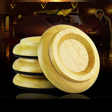 4 PCS Wood Protect Piano Caster Cups Furniture Round Wheel with EVA PAD Shockproof Accessories