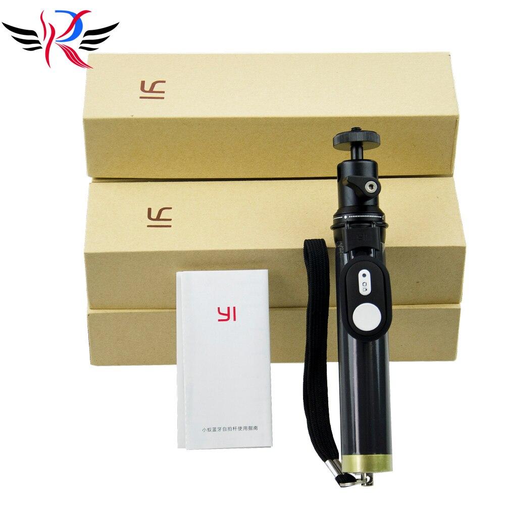 Original Xiaomi yi Action Camera Bluetooth Monopod Extendable Remote Control Selfie Stick Tripod for Xiaoyi Sport Camera<br><br>Aliexpress