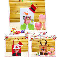 Christmas Santa Candy Gift Bag Pouch Toy Ornaments Home Decoration Gift Wrap