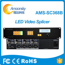 professional AMS-SC368B led splicing processor hq 8k video controller as vdwall lvp8601 for commercial advertising led display