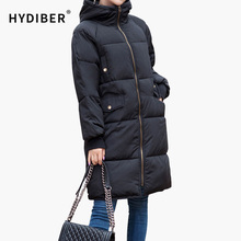 2017 New Long Jackets Ladies Winter Coat Plus Size 3XL Cotton Padded Coat Casual Windproof Female Outwear Parkas for Women