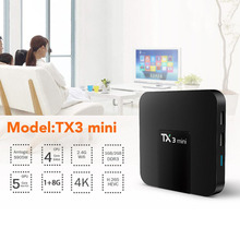 Mini Set Top Box STB STU For Amlogic S905W 2.0 GHz Quad-core For Android 7.1 Smart TV Media Player High Speed USB 2.0 Hot Sale(China)