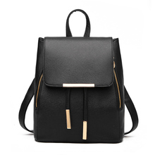 Leather Backpacks Women Fashion Backpack Fresh School Bags Teenagers Mochila Bagpack Woman Travel daypack Back Pack