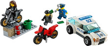 10417  City High Speed Police Chase Building Block policeman Crooks figures Kids Educational Toys 60042  Compatible with Lego