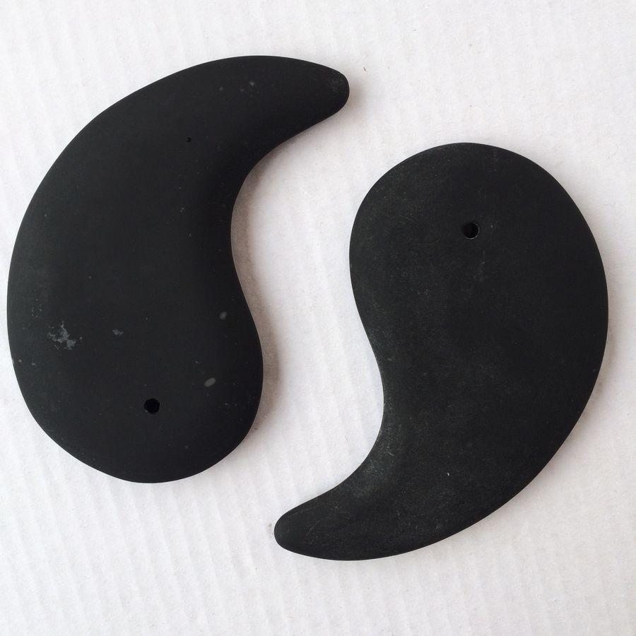 Natural Energy Tai Ji Stone Needle Black Color Authentic Bian massage Stone Treat Headache Eye Dim Losing Weight Health Care<br><br>Aliexpress