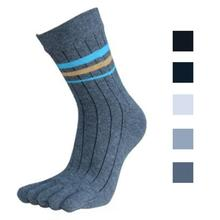 Summer Men Socks Cotton outfit Five Finger women Toe socks cotton tube Breathable Fitness Non Slip Socks New