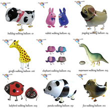 200pcs/lot Free shipping Mix styles wholesale Various Walking animal balloons pet balloons Helium Baloons