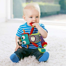 Robot Style Baby Toys 0-12 Months Bed Bell Educational Toy For Children Mothercare Stroller Mobile Rattles Dolls Kids Toy(China)