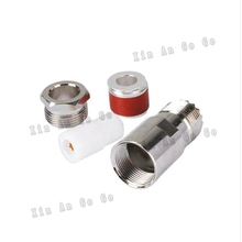 UHF SO239 female crimp RF Coxial connector SO239 UHF female straight Crimp for 50-7 7D-FB LMR400 coaxial cable fast ship