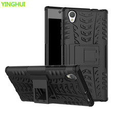 Buy Hybrid TPU Armor Silicone Rubber Hard Case Sony Xperia L1 Case Sony Xperia L1 Hard Back Cover Impact Case Sony Xperia L1 for $3.16 in AliExpress store