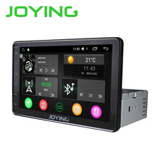 Joying Latest 8 '' inch Single 1 din Universal Touch screen car radio player Android 6.0 car audio stereo HD GPS Navigation