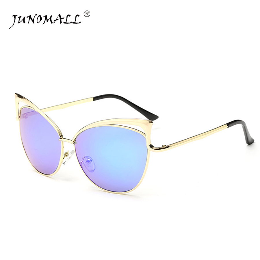 new High Quality Sunglasses Women Hollow metal Brand Designer Vintage Sun glasses New Fashion Glasses Cat Eye 8041<br><br>Aliexpress