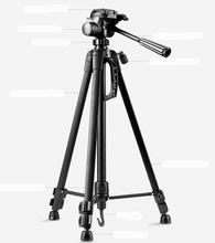Professional Tripod stand for Camera Camcorder WF-3520 Black tripod tripe extensor para foto with handle head(China)
