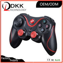Newest Game Controller with Bluetooth receiver Wireless Bluetooth Gamepad Joystick for Android Phone/Pad/Tablet PC TV Box(China)