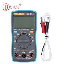 ZT102 Big Screen Digital Multimeter Auto Range AC / DC Voltage AC / DC Current Resistance Capacitance Continuity Muilti Tester(China)