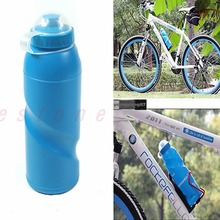 New Outdoor Sports Cycling Camping Bicycle Bike 700ml Sports Water Bottle Blue Free shipping-Y102