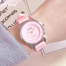 Fashion Lovely Cute Women Quartz Wristwatches Candy Colors Cute Girls Small Watch Students Sweet Leisure Clock Relojes mujer(China)