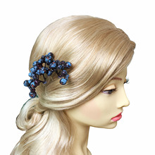 3pc Berries Hairpin Wedding Hair Accessories Wide Fruits Hair Pin Clips For Women Bridal Head Pieces Pince Cheveux WIGO1051