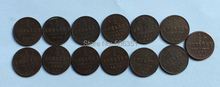 Russian Copper Coins 1/2 Kopek <1881-1894> 13 coins copy Free shipping