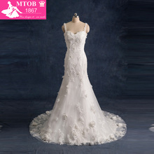 Sexy Backless Mermaid Wedding Dresses Lace Vintage Wedding Dress Shopping Sales Online Wedding Gowns Flowers Real Sample W0923C