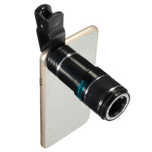 Hot Sale Universal 12X Zoom Optical Clip Telephoto Telescope Camera Lens For Mobile Phone Lens Camera Zoom