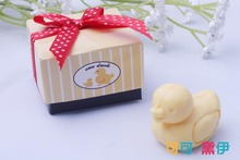 25pcs/lot Wedding Gift Baby Birth Shower Favors Small Little Duck Soaps