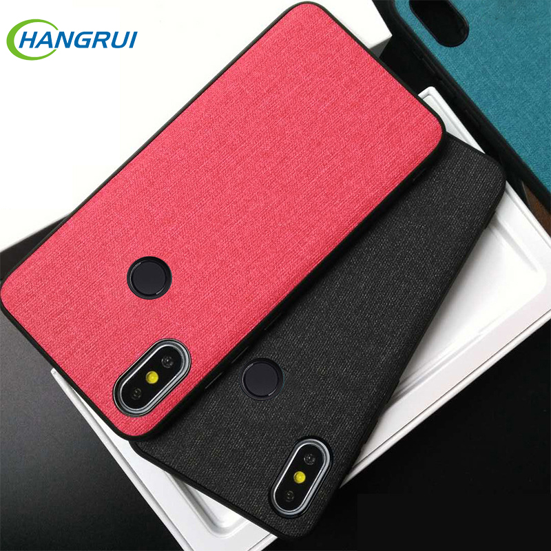 Fashion Cloth Cases for Xiaomi Redmi Note 7 5 6 Pro Heat Dissipation Cloth Fabric Cover For Redmi Note 5 7 6 Pro 5 Plus Coque