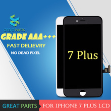 GREAT PARTS 5PCS Grade AAA LCD 5.5 inch For iPhone 7 Plus LCD Display With Good 3D Touch Screen Digitizer Assembly Replacement(China)