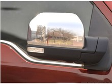 For Ford F150 2015 2016 Chrome Review Door Mirror Cover Trim Car Chromium Styling Accessories