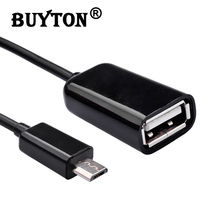 Micro USB To Female USB Host Cable OTG Mini USB Cable Adapter Mini USB Cable For Samsung Android Tablet PC MP3/MP4