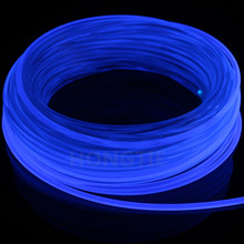 5meters*3.0MM Universal decoration Side Glow fiber optic cable Car light(China)