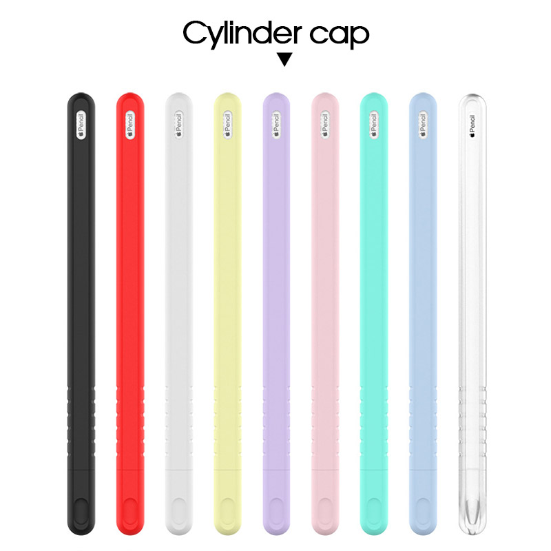 Stylus-Protector-Cover Nib-Holder Touch-Pen iPad Pencil Soft-Silicone-Case 2nd-Generation title=