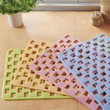 35x75cm Environmental Protection Fiber Bath Mat Sucker Non-Slip Mat Mosaic Bathroom Toilet Shower Room Door Pad