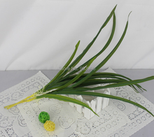 Small gladiolus leaves-20pcs/lot green 45cm silk wedding decorative artifical flower hand made christmas party decoration