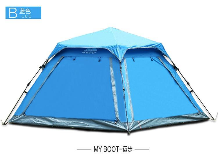 outdoor recreation family camping 4 person tent travel automatic tents for beach camping equipment professional tent camp<br><br>Aliexpress