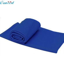 Cold Sensation Beach towel Drying Travel Sports Swiming Bath body Towel Yoga Mat Free Shipping NO2z