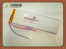 1pcs [L474] 3.7V,2350mAH,[3045150] ; polymer lithium ion / Li-ion battery for tablet pc,power bank,mp4,cell phone,speaker