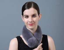 Korean new double integral skin rabbit hair ball magnetic button female fur scarf warm in winter(China)