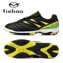 TIEBAO Professional Soccer Football Shoes Chuteira Futebol TF Turf Soles Soccer Cleats Athletic Trainers Sneakers Adults Boots