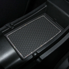 car Door groove mat for jeep compass 2007-2015Coasters Modified anti-skid pad Dust mats Gate slot pad 18PCS(China)