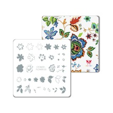 CICI&SISI New Layered Nail Art Stamping Plate Decorations Konad Stamping Manicure Template Stamp Flower 05-06(China)