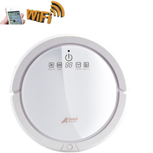 ALS-Q6W WIFI Robot Vacuum Cleaner Wet And Dry,Self-Charging,Large Capacity Battery, Self Check Breakdown