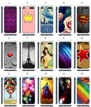 Hot 1pc Mobile Phone Case Colorful Bubble Star Hybrid Design Protective White Hard Case For ipod touch 6 6th Free Shipping