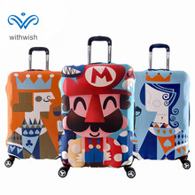 Hot Sale Lovers Favorite Travel Luggages Suitcase Protective Cover High Elastic Suitcase Cover Apply to 18''~30'' Trolley Cases