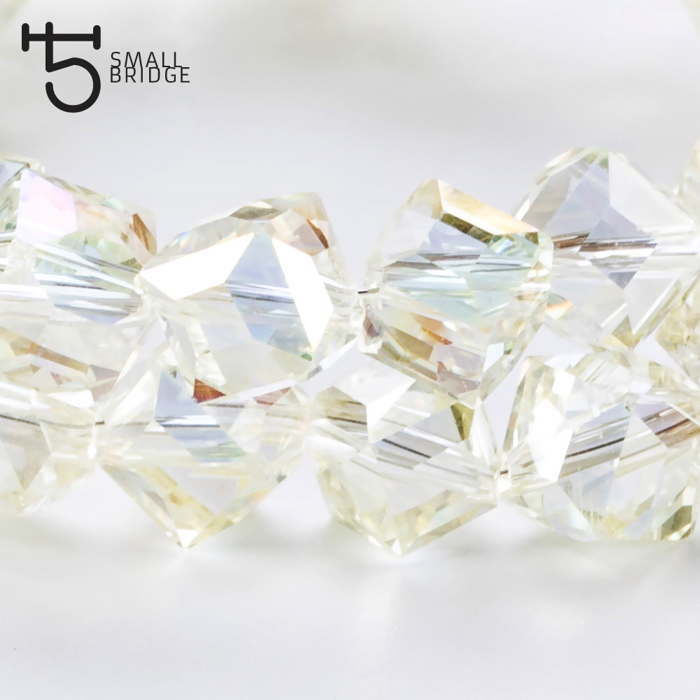 Square Glass Beads (6)