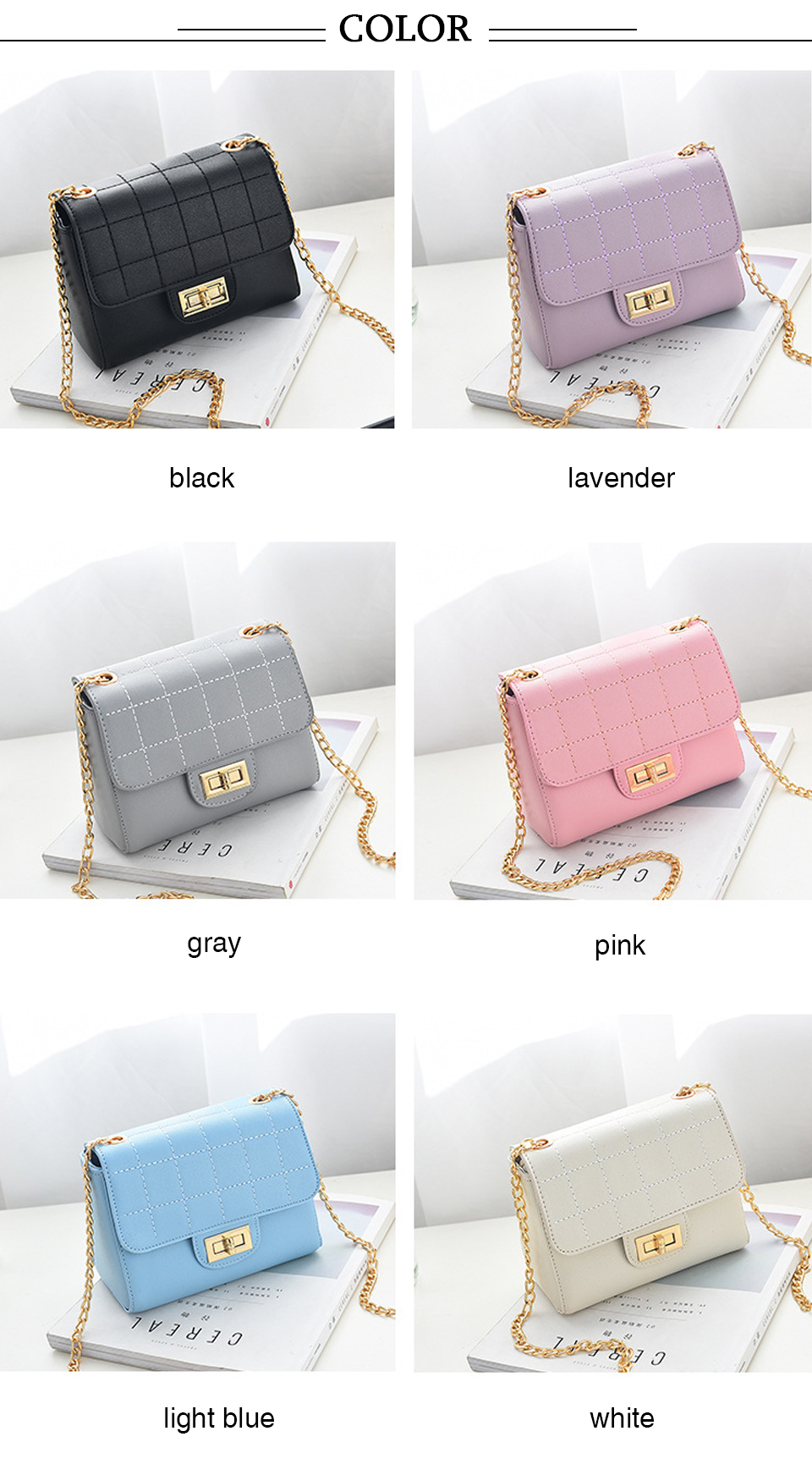 ALCEVR Fashion Flap Shoulder Crossbody Bags High Quality PU Leather Women Messenger Bags Designer Brand Ladies Clutch Hand Bags